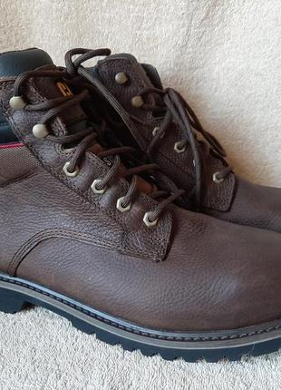 Ботинки caterpillar steel toe р.45 стелька 30см