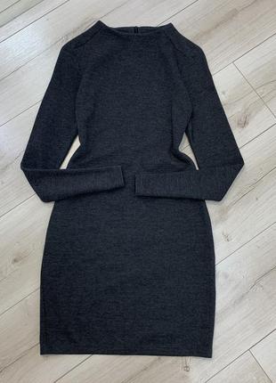 Шерстяное платье zara