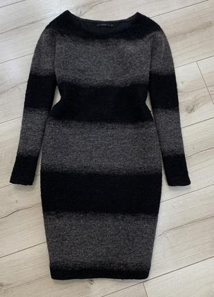 Тёплое шерстяное платье cos