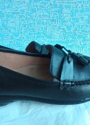 Лоферы/туфли clarks 38-38,5 размер