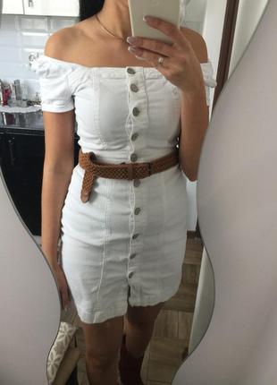 Сарафан джинсовий