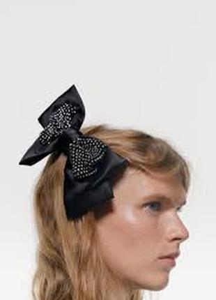 Zara заколка для волос бант zara