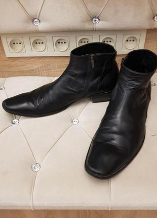 Мужские ботинки кожа деми