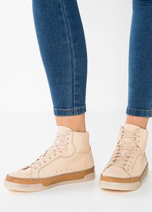 Clarks кожаные ботинки р.5 - 24.5