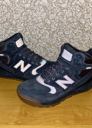 Мужские высокие зимние ботинки new balance fresh foam paradox leather оригинал размер 41.5
