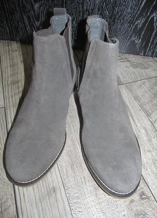 Замшевые ботинки soleflex р.39 -25,5см