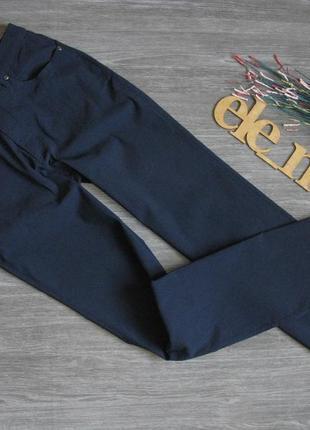 Темно синие брюки стрейч biaggini eur 38/42