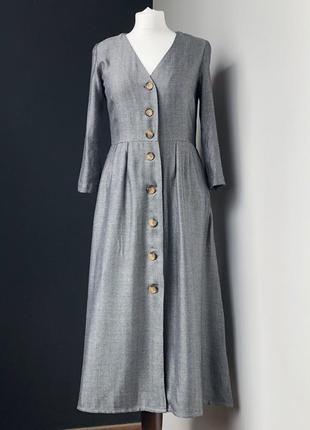 Платье от mango размер s тёплое