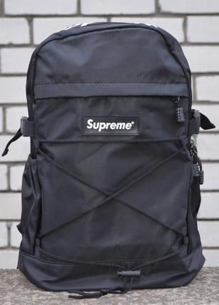 Рюкзак supreme bag black портфель сумка суприм черный женский / мужской