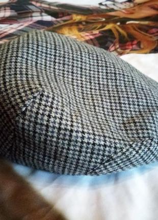 Твідова кепка, картуз sergio ltaly