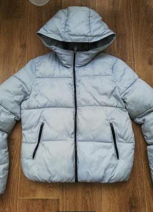 Куртка, зефирка, пуффер bershka