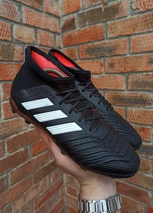 Футбольные бутсы adidas predator 18.1 fg размер 38,5 (25 см.)