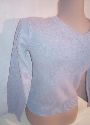 Серый свитер джемпер на мальчика 5-8 лет h&m