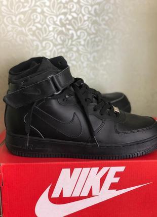 Кросівки nike air force high black winter