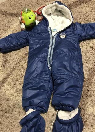 Зимний кобенизон для малышей