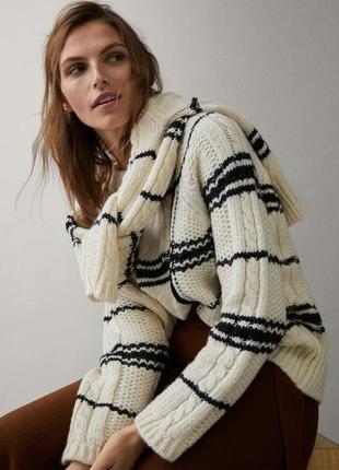 Шикарный свитер massimo dutti