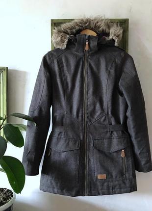 Деми куртка парка пальто мембрана trespass размер xs