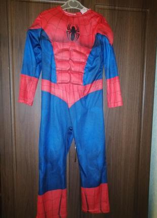 Костюм спайдер мена spider man комбинезон