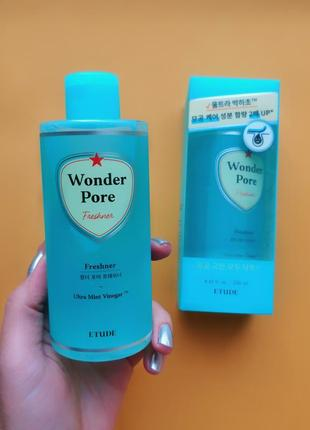 Тонер 10 в 1 etude house wonder pore freshner 250 мл