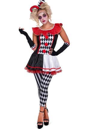 Карнавальный костюм арлекин игровой маскарадный костюм м