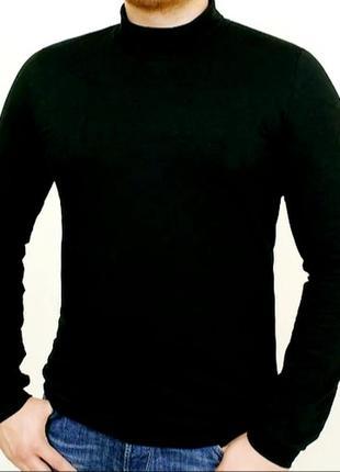 Базовые теплые мужские водолазки, размеры m-3xl