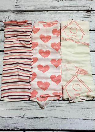 Пеленки хлопковые муслиновые пелюшка пелюшки пеленка набор для девочки