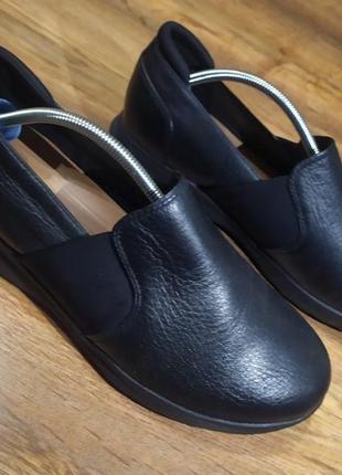 Туфли мокасины clarks 39 р оригинал