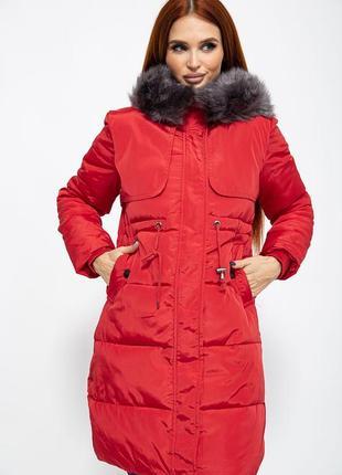 Куртка, цвет красный