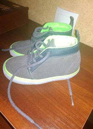 Детские ботинки next 6