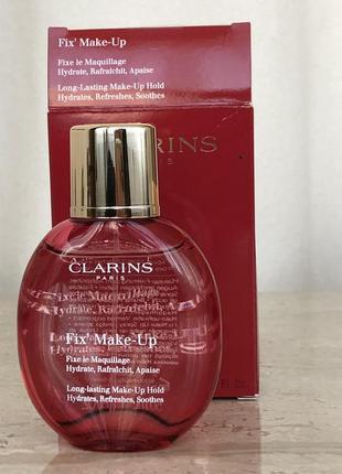 Спрей фиксатор макияжа clarins