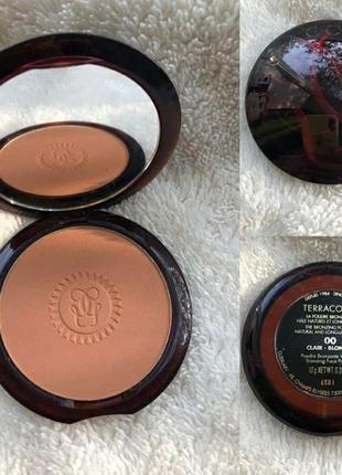 Пудра-бронзер для лица guerlain terracotta bronzing powder оттенок 00 clair blondes