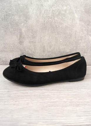 Новые (сток) классические туфли-балетки esmara. размер uk5/eur38.