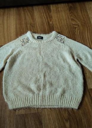 Женский вязаный свитер george