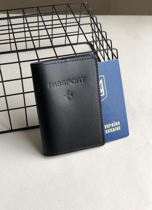Акція!!!обкладинка на паспорт зі шкіри, hand made, обложка на паспорт