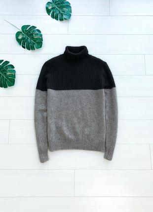 Стильный шерстяной гольф в крутой расцветке свитер кофта ernest shackleton