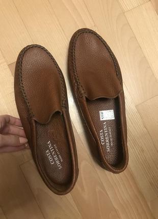 Туфлі макасіни costa sorrentina взуття чоловічі