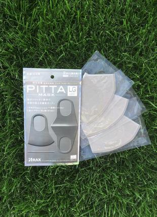 Pitta mask. защитная многоразовая маска питта/pitta. не медицинская. оригинал. япония
