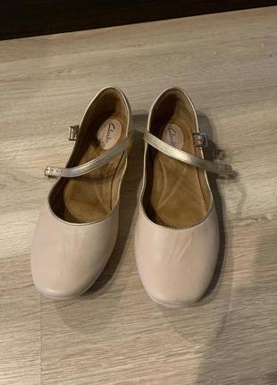 Балетки туфли  кларкс clark's оригинал 41 р все кожа
