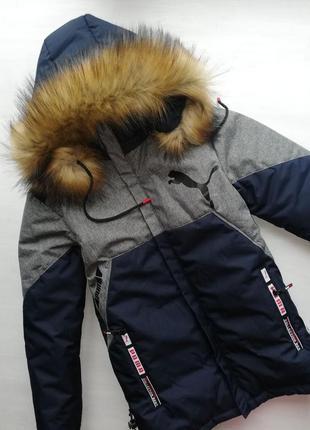 Стильное зимнее пальто