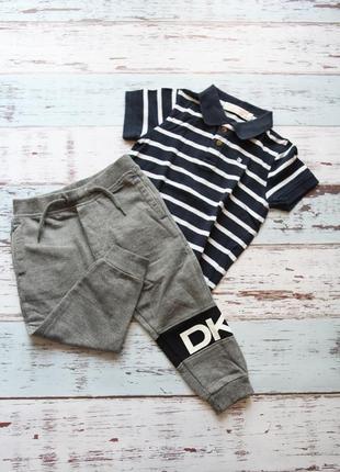 Dkny спортивные штаны + футболка castro