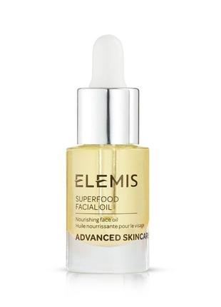 Масло с омега-комплексом elemis superfood facial oil, 5 мл