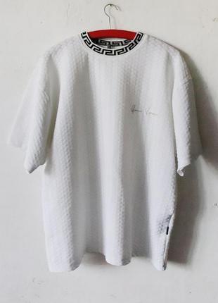 Винтажная фактурная футболка versace
