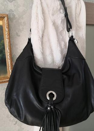 Шикарная большая сумка в стиле хоббо luxury leather👜👜🔥💥💣