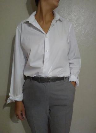 Рубашка,блузка,блуза,белая,оверсайз,хлопок