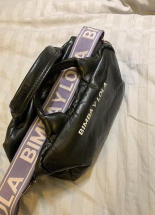 Кожанная сумка bimba y lola