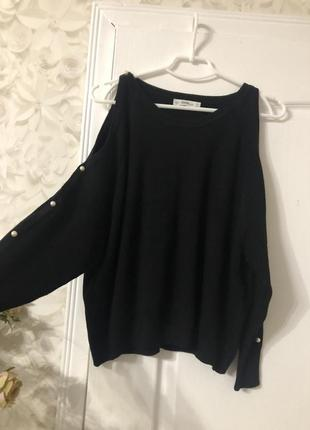 Объемный свитер zara!