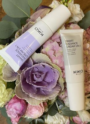 Крем для лица kiko milano smart radiance cream