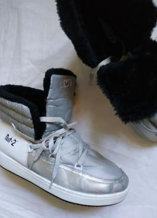 Зимние кроссовки на меху nat-2