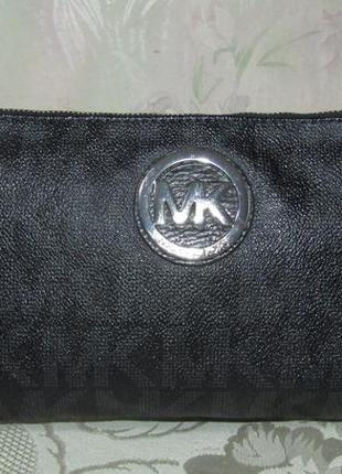 -michael kors- monogram сумка-клатч номер оригинал
