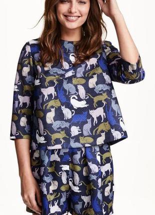 Блузка купить кошка